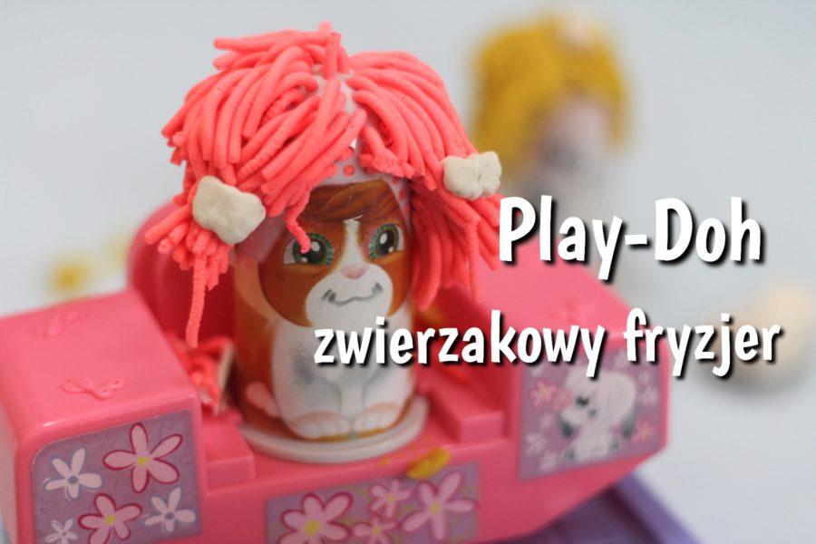 Play-Doh zwierzakowy fryzjer