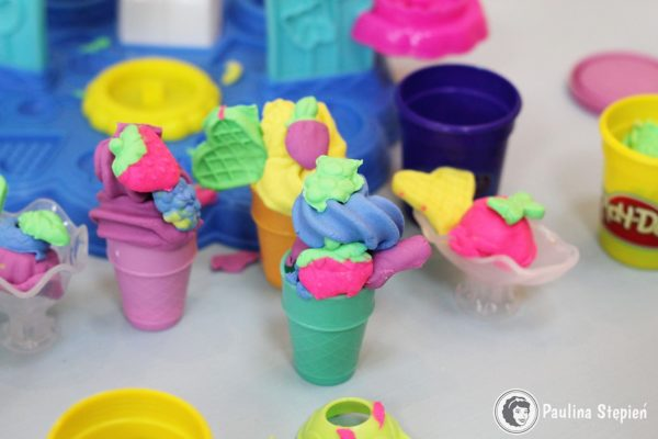 Play-Doh lodziarnia