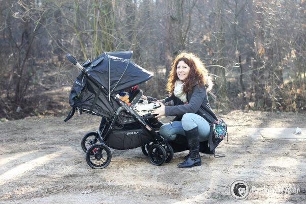 Podwójny wózek :) Snap DUO