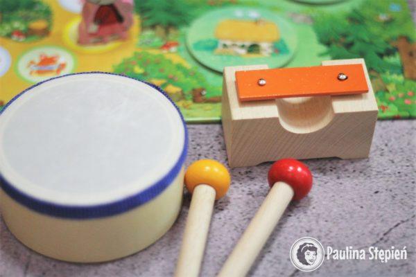 Gra Ding Dong instrumenty