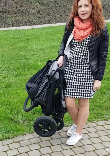 Składanie wózka Joie Litetrax 4Air