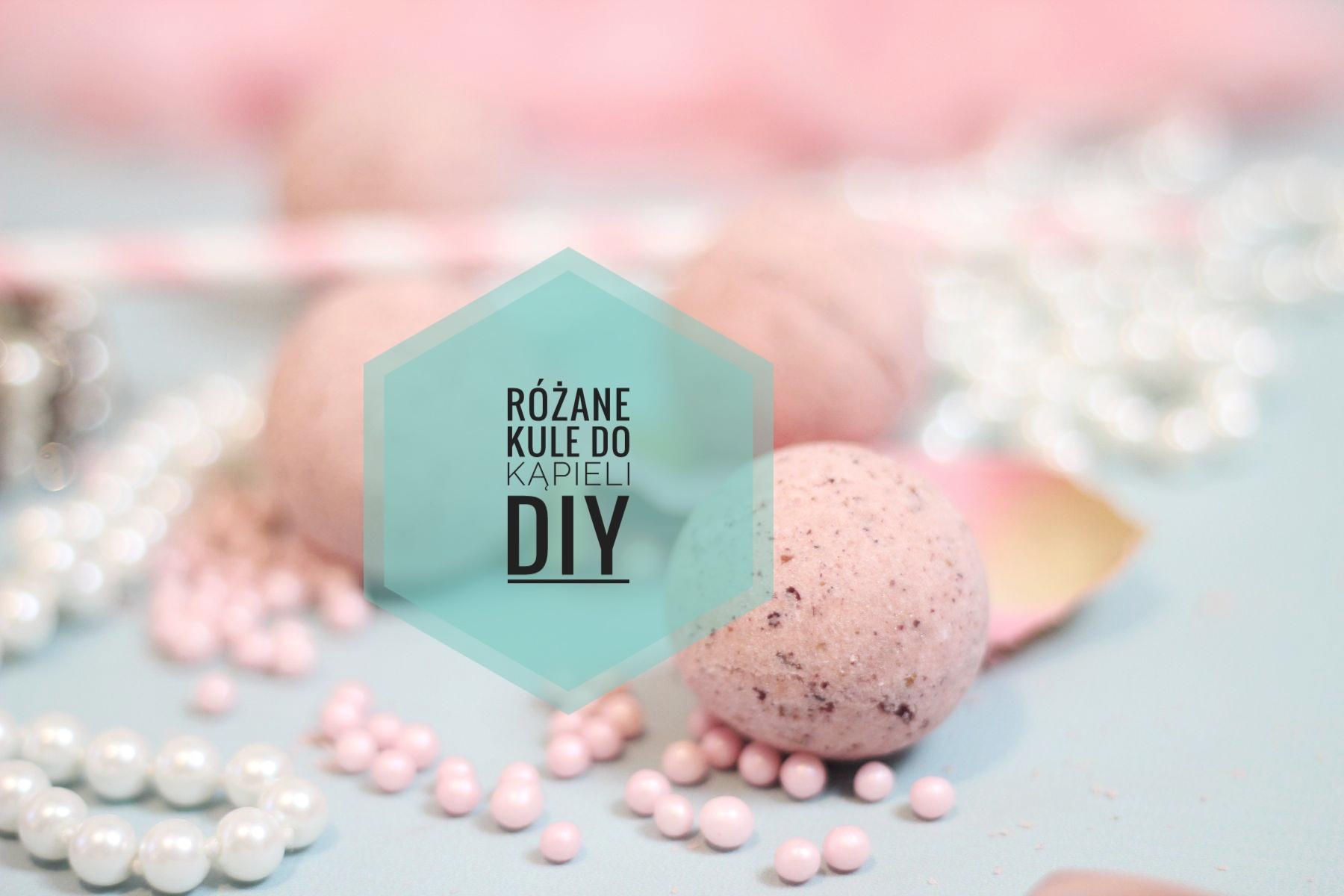 Różane kule kąpielowe DIY