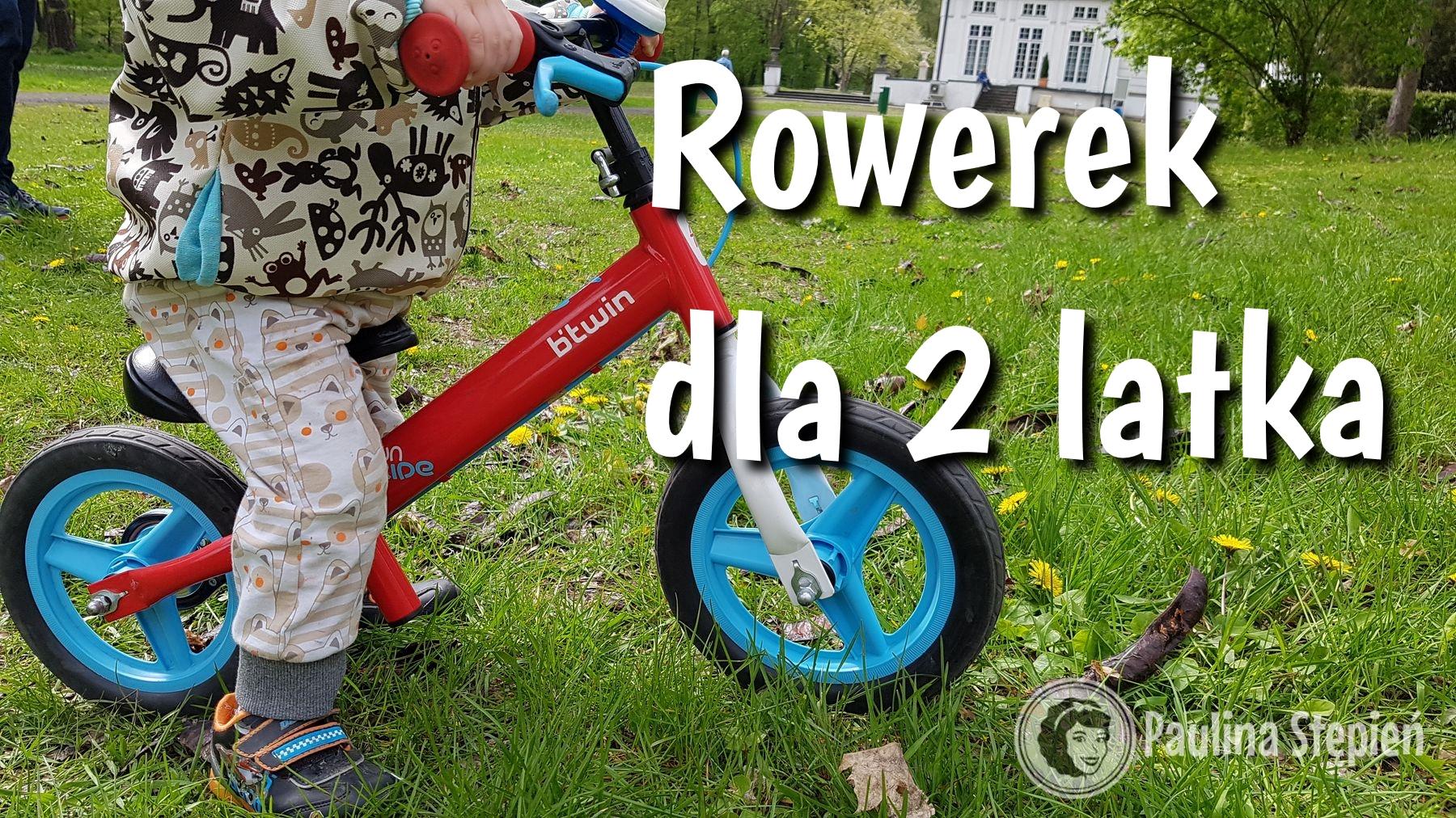 Rowerek dla dwulatka jak wybrać