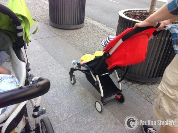 """Tutaj opcja: """"a może jednak nie potrzeba nam wózka = skończymy z dwoma"""""""
