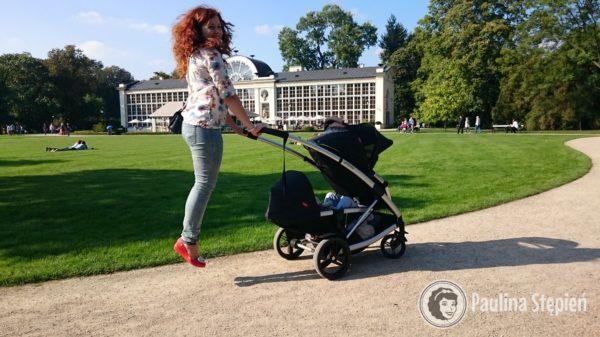 Wózek dla rodzeństwa (tutaj Phil&Teds Promenade)