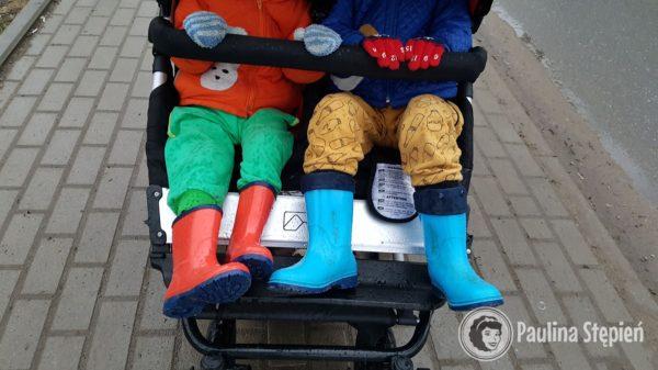 i wielka ulga :D czyli dwoje w wózku