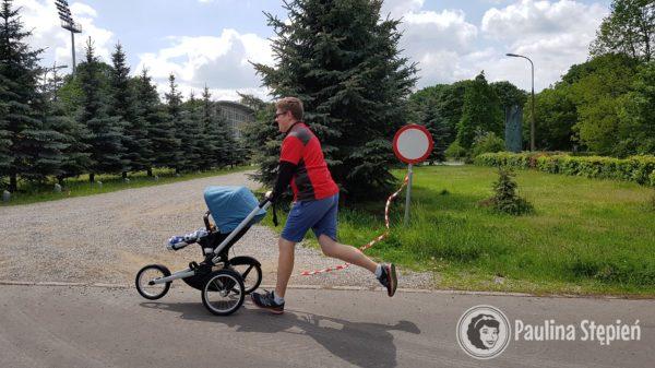 Bieganie z wózkiem :)