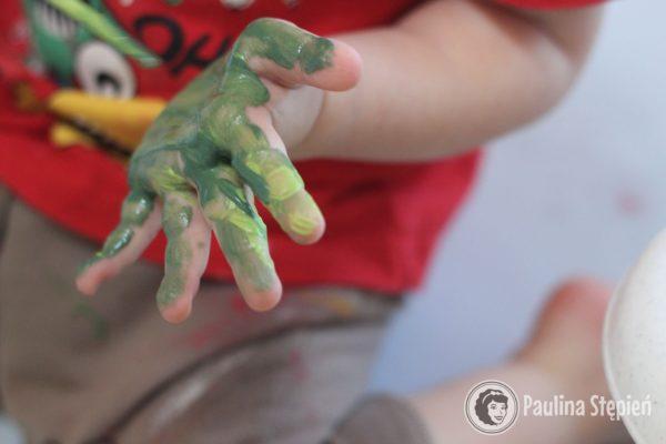 Malowanie rączki