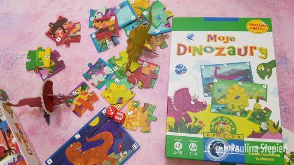 Moje Dinozaury – elementy