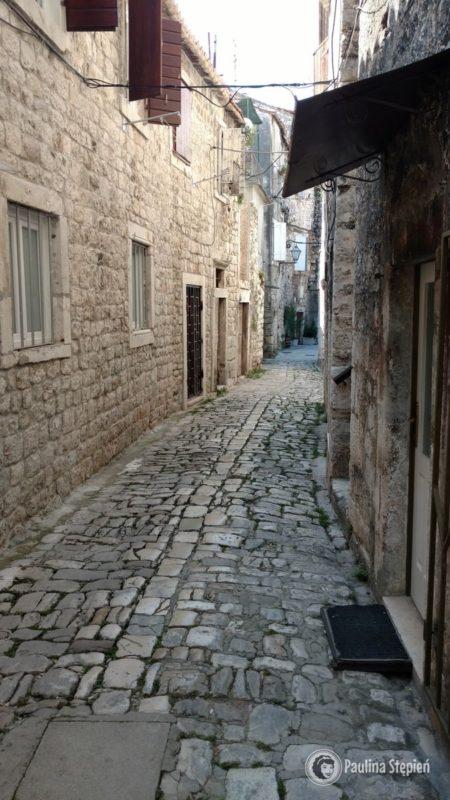 Ulica w starej części Trogiru