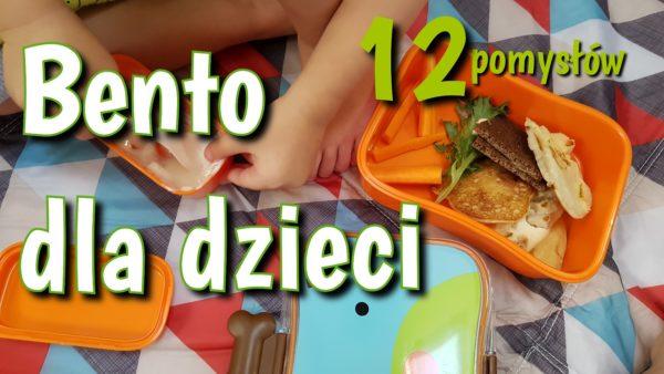 Pomysły na bento dla dzieci – lunchbox na spacer