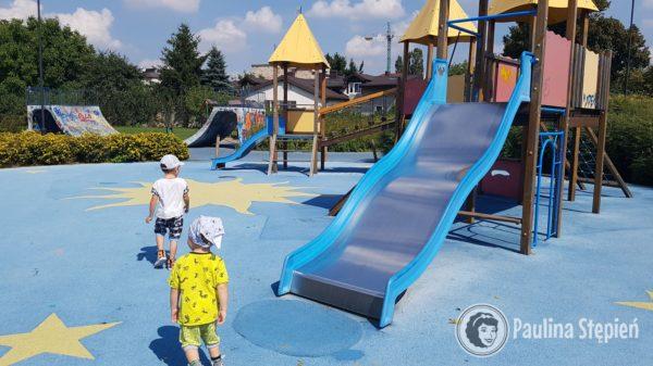 Plac zabaw Hasanka, część dla przedszkolaków