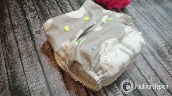 Tutaj uszyte bawełniane majteczki, które super sprawdzały się latem