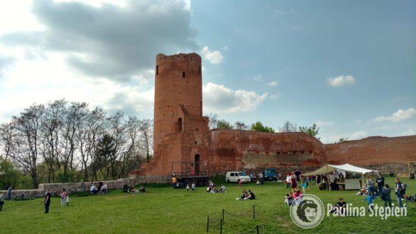 Zamek Czersk – wieża nieczynna