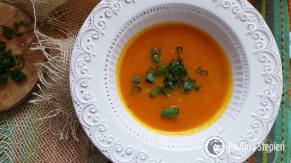 Podwieczorek, zupa dyniowa