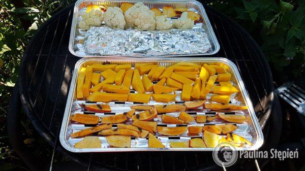 Przekąska i podwieczorek, warzywa grillowane