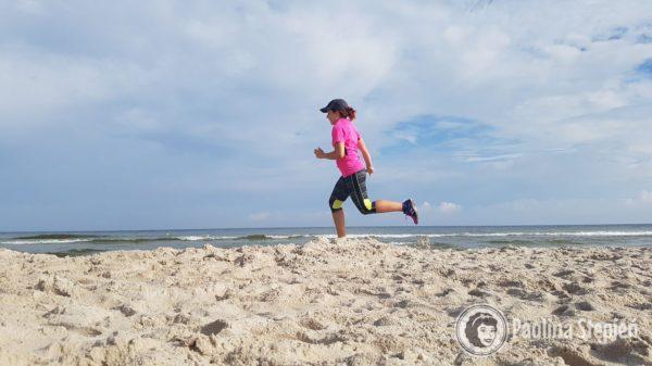 Poranne bieganie nad morzem – cudowne!