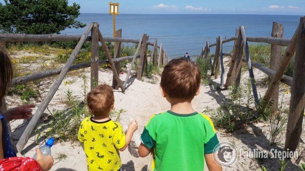 Widok morza cieszy zawsze tak samo!
