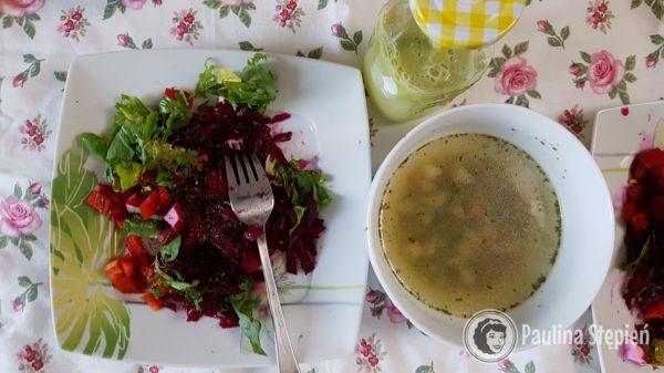 Śniadanie dzień 1 dieta warzywno-owocowa