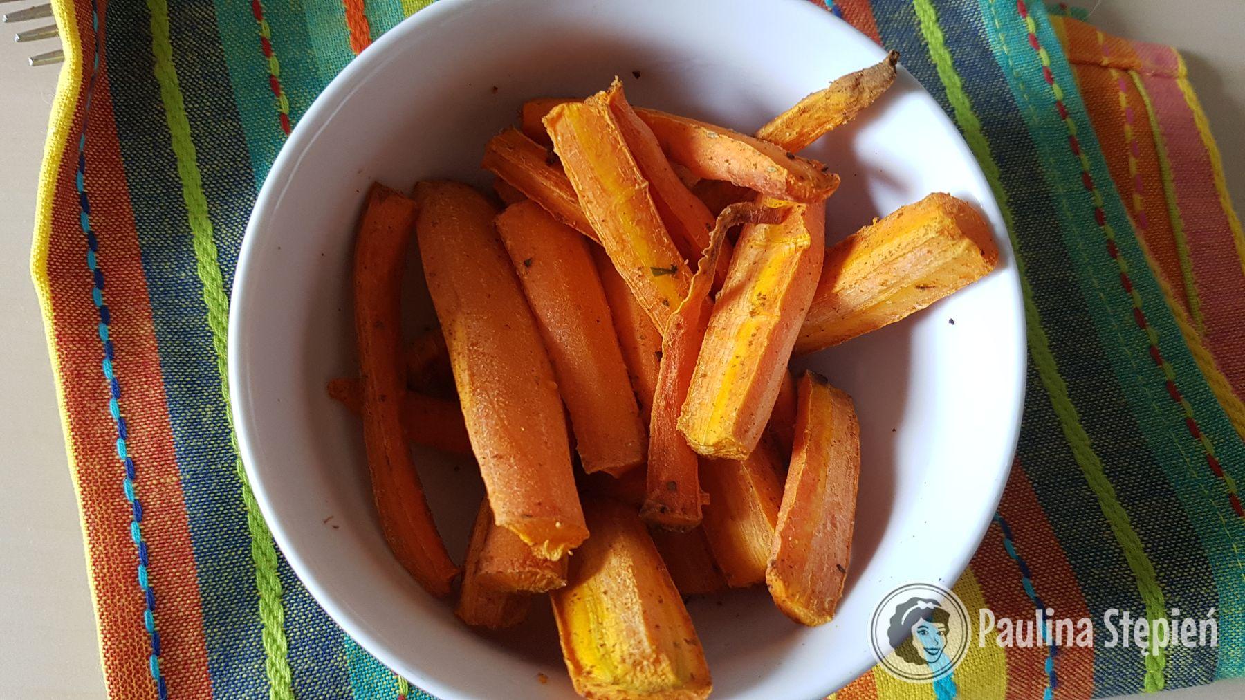 Pieczone marchewki (pyyyyszne)