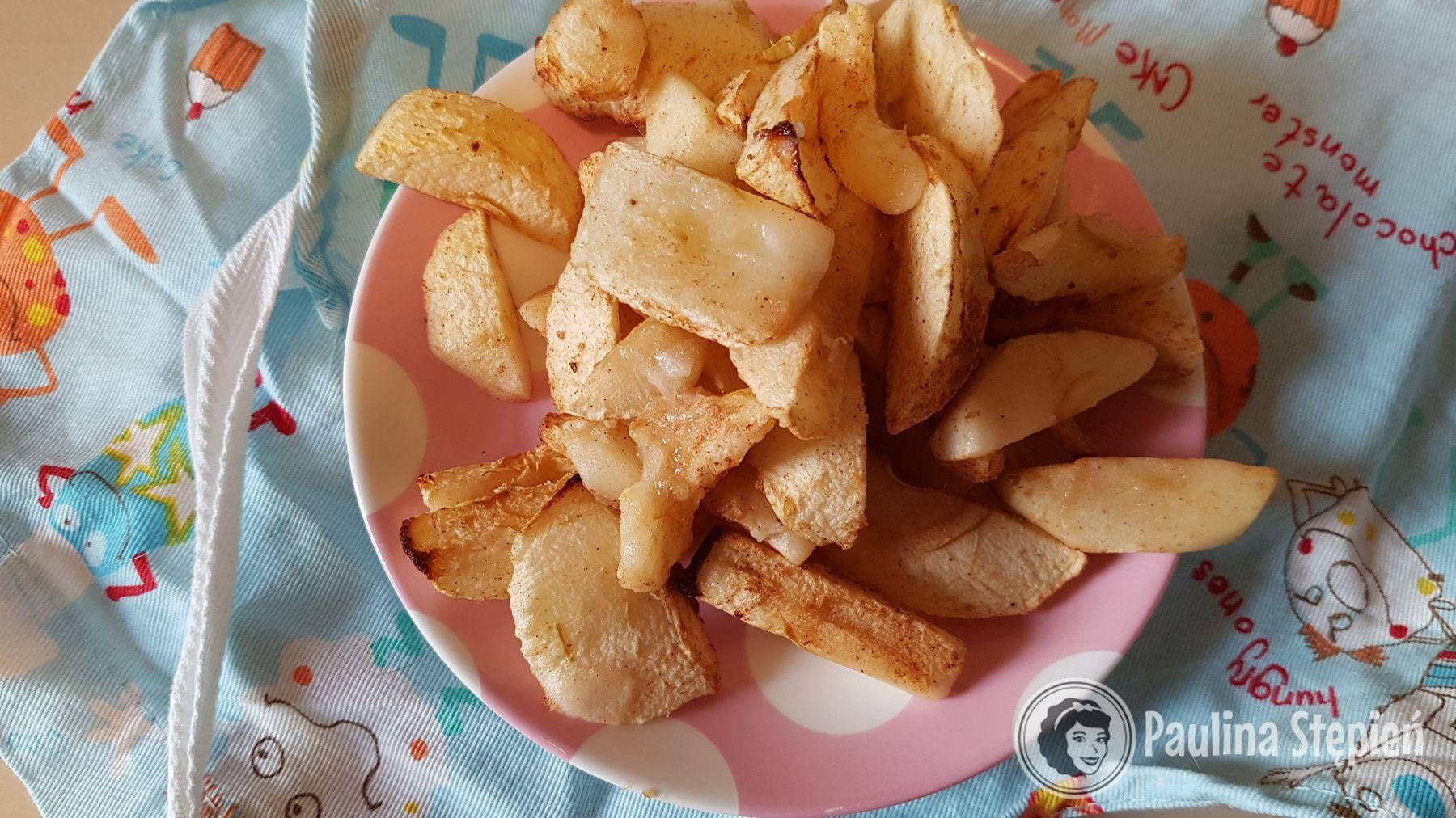 Pieczone jabłka na deser