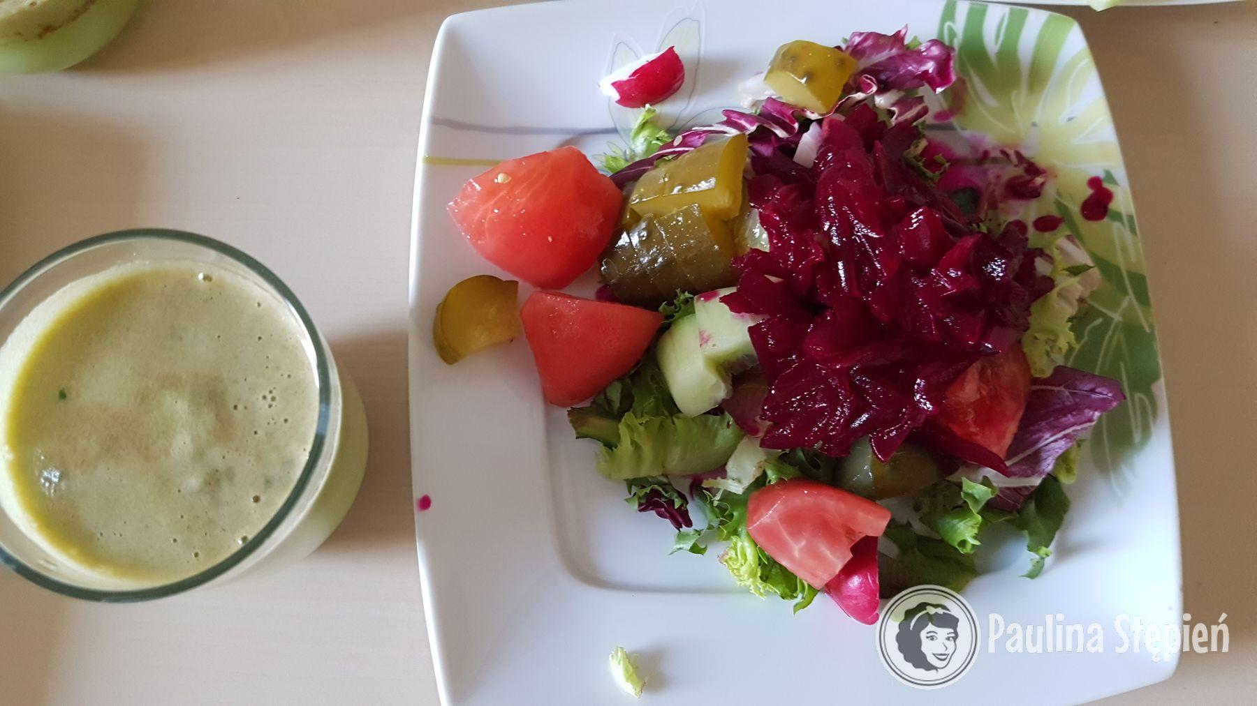 Śniadanie na diecie warzywnej