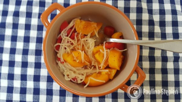 Przekąska: sałatka z selerem