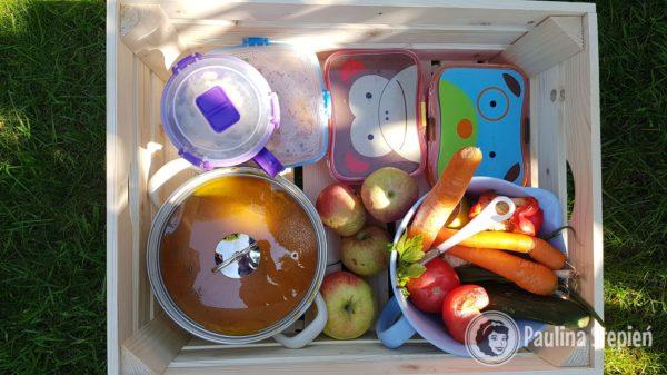 Nasz wyprawka na piknik na działce :)