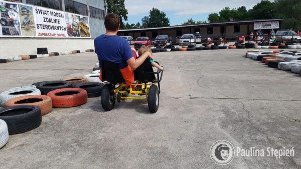 Mini rowerowe gokarty