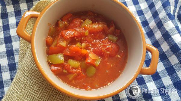 Obiad, leczo warzywne