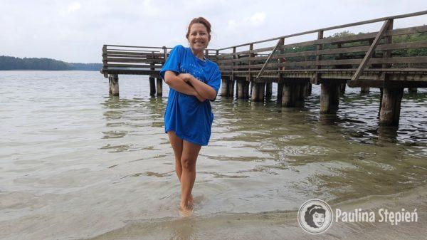 O ile pierwsze dni są słoneczne to ten ostatni jest trochę chłodniejszy, ale kąpiel w jeziorze musi być :)