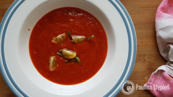 Podwieczorek 23, zupa paprykowa