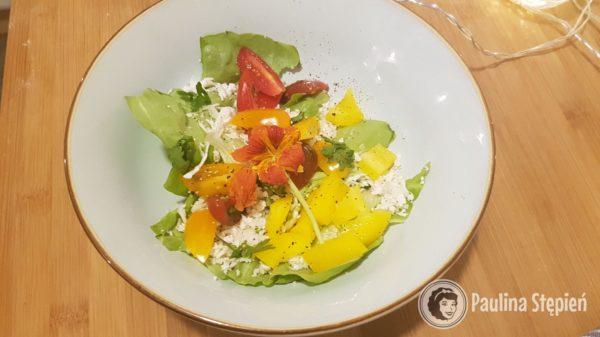 Przekąska 24, surówka z sałaty i warzyw