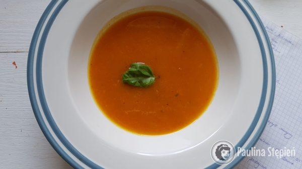 Podwieczorek 26, zupa dyniowa