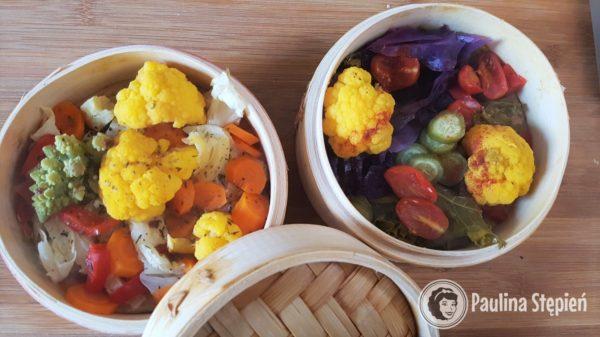 Obiad 27, warzywa z parowaru