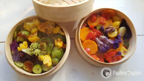 Obiad 29, warzywa na parze