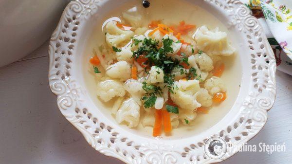 Podwieczorek 36, zupa kalafiorowa