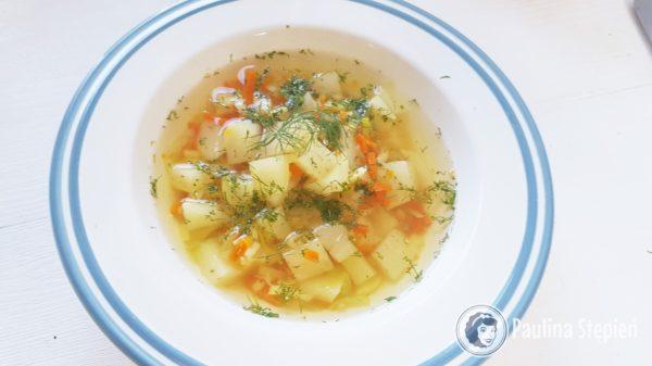 Podwieczorek 37, zupa z kalarepki