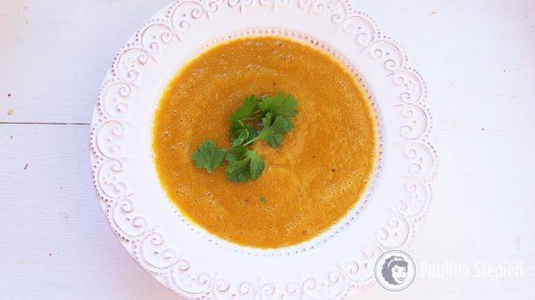 Podwieczorek 40, zupa z pieczonych warzyw