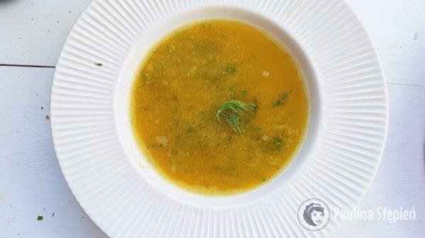 Podwieczorek 41, zupa z pieczonych warzyw