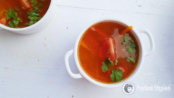 Podwieczorek 42, pyszna zupa curry