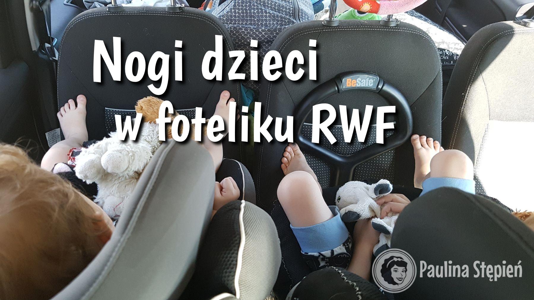 Nogi dzieci w RWF