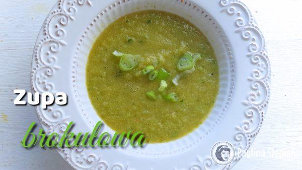 Podwieczorek 24, zupa krem brokułowa