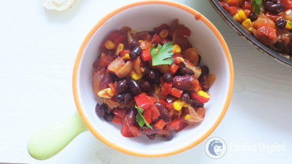 Obiad 4, chili sin carne