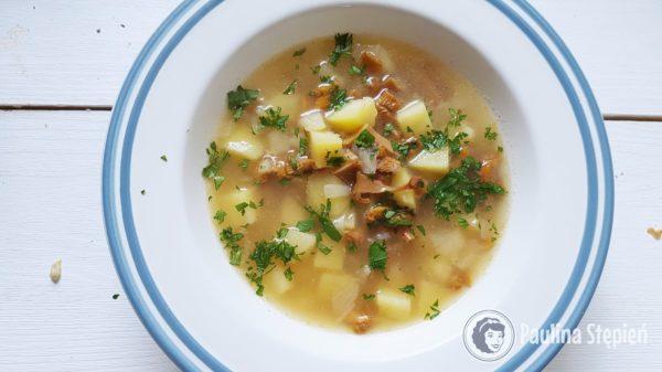 Podwieczorek 5, zupa kurkowa