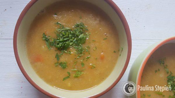 Podwieczorek 7, zupa krem z warzyw
