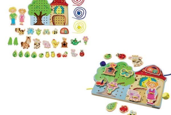 Zabawki dla dzieci z dyskontów