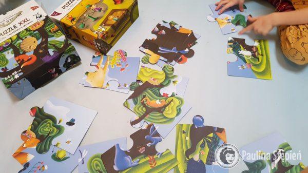 Puzzle XXL mieszkańcy drzewa