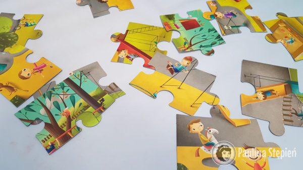Puzzle XXL plac zabaw