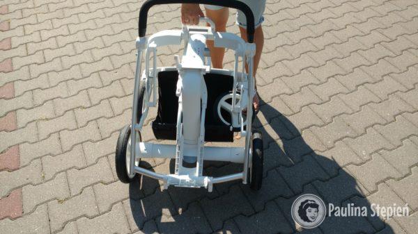 Inglesina Quad złożony wózek